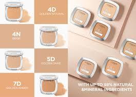 True Match Skin Caring Skin Matching Pressed Powder