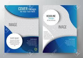 Cover Design Template Brochure Leaflet Annual Report Magazine