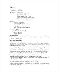 sample freelance resume freelance translator resume resume freelance  graphic designer