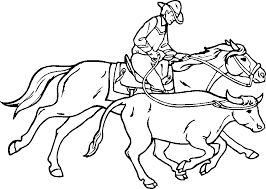 Small Picture Cowboy Coloring Pages Coloring Kids