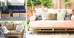 20 diy pallet patio furniture tutorials for a chic and practical outdoor patio cute diy projects