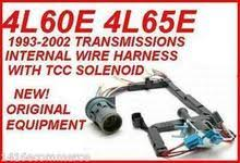 4l60e 4l65e transmission tcc solenoid wire harness kit fits 93 4l60e 4l65e transmission solenoid tcc wire harness ac delco 12143296 fits