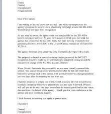 Sample Of Proposal Letters Sample Proposal Letter Smart Letters