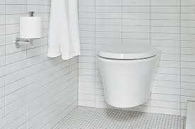 wall mounted toilet can add style and