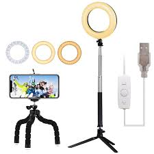 Ring Light For Phone Amazon 6 Led Ring Light Lambony 6500k Dimmable Standing Ring
