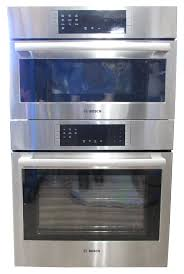 bosch hbl8751uc 30 sd microwave and wall oven combo