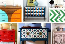 colorful painted furniture. PAINT IT!!! These Are Just A Few Of The MANY Ways To Spruce Up An Old Piece Someone\u0027s Trash, And Truly Make It One Kind TREASURE. Colorful Painted Furniture E
