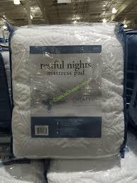 costco mattress cover. Modren Costco Restful Nights Mattress Pad Queen For Costco Cover S