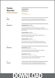 Google Docs Resume Template Interesting Resume Google Docs Template Google Doc Resume Google Docs Resume