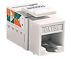 wiring devices 5547 5ela cat 5e rj45 modular data jack light almond cooper wiring devices 5547 5ela cat 5e rj45 modular data jack light almond
