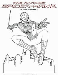 Spiderman coloring images spiderman large coloring pages spiderman online coloring please join us in coloring spiderman! The Amazing Spider Man 2 Coloring Sheets Spiderman Coloring Spider Coloring Page Amazing Spiderman