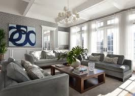 Gray Living Room New Inspiration Design