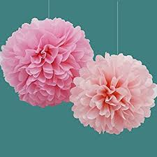 Party Decorations Tissue Paper Balls Amazon Pom Poms by Festival Handspack of 100 100 sizes Tissue 76
