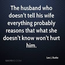 Wife Quotes Gorgeous Leo J Burke Wife Quotes QuoteHD