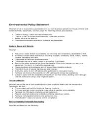 business policy example example environmental policy california green business program
