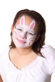 bunny face paint
