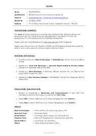 Resume Graphic Designer Format Resume For Study