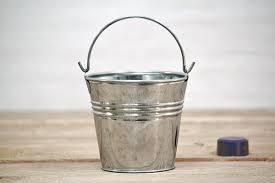 Small Tin Buckets