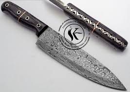 Best Chef Knife 8 Inch VG10 Damascus Steel Kitchen Knife Highend Damascus Steel Kitchen Knives