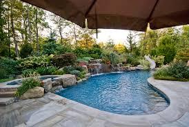 landscaping ideas by nj custom pool