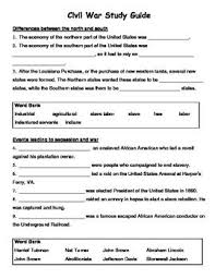 best civil war images civil wars teaching virginia studies fill in the blank civil war study guide this tool can be used as homework organizationessay questionsvirginia