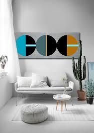 custom made mod cubism 60x24 wood decor wood art abstract art mid