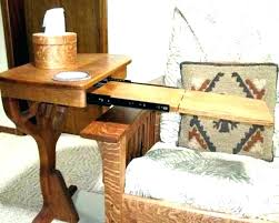 couch armrest table astonishing over arm side table large size of living slide under and furniture couch armrest table