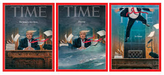 in cover time cover the story behind the in deep donald trump time