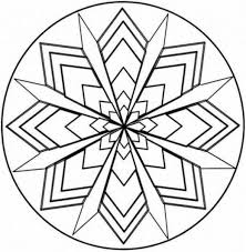 Small Picture Symmetry Coloring Design Kaleidoscope Coloring Pages Teaching