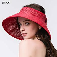 <b>USPOP 2019 new</b> women sun hats wide brim anti uv female casual ...