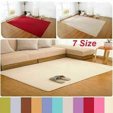 details about floor living room mats home area rug carpet bedroom plus size anti skid fluffy