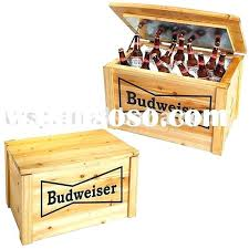 wooden cooler box plans ice wood chest diy