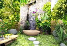 Outdoor bathroom design ideas