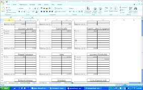 Ledger Template For Excel Excel Ledger Watch Financial Accounting Journal Entries With Ledger