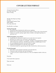 Breathtaking Proper Cover Letter Format 2 Formal Cv Resume Ideas