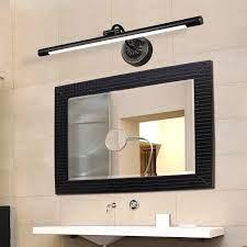 Waterproof Black Led Vanity Light Bar Rowe Lighting