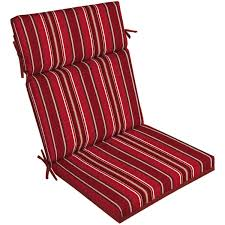 better homes and gardens outdoor patio reversible dining chair cushion multiple patterns com