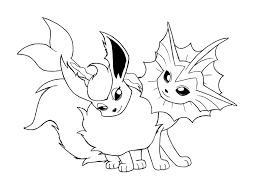 Pokemon Coloring Pages Eevee Eevee Pokemon Coloring Page Free ...