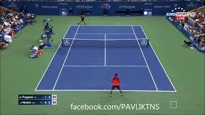 Rafael Nadal vs Fabio Fognini AMAZING POINT US OPEN 2015 - video Dailymotion