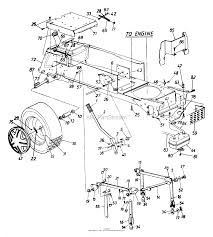 Rear wheel assembly muffler exhaust tube cub cadet seat wiring diagram at ww w