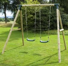 venus wooden swing set