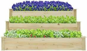kinbor 3 tier raised garden bed planter