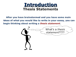 do i need a thesis statement in my essay essay writing sitemap