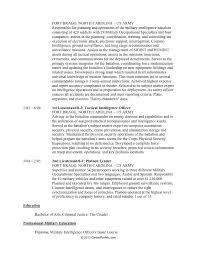 resume - Military To Civilian Resume Builder