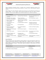 Power Plant Electrical Engineer Resume Sample Interesting Power Plant Electrical Engineer Resume Sample With Power 22