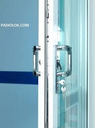full image for sliding glass door lock bar chic door handles design ideas page 2