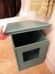 image covered cat litter. make your own cat litter box cover we have to do this for mischief in our new house the home pinterest covers and image covered