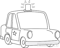 police car clipart black and white. Simple White On Police Car Clipart Black And White R