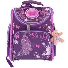 <b>Ранец школьный Hatber Compact</b> Plus , цвет: фиолетовый ...
