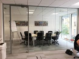 office partitions with doors. Wendy Fisher Consulting (London): Acoustic Glass Partition With Framed Door Office Partitions Doors I